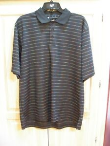 aa NWT Mens Under Armour Loose Heat Gear Golf Polo Size Medium White   MSRP $55