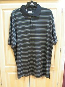 bb NWT Mens Under Armour Loose Heat Gear Golf Polo Size Medium White   MSRP $55