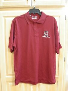 ee NWT Mens Under Armour Loose Heat Gear Golf Polo Size Medium White   MSRP $55