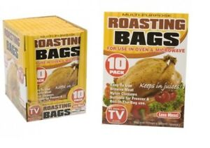 Roasting Bags Oven Bag Meat Chicken Veg Roast Turkey Roasting BAG AS SEEN ON TV