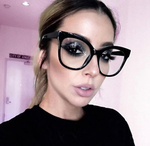 MISS GORGEOUS Women Eyeglasses CAT EYE Clear Lens Shadz Glasses Oversized GAFAS