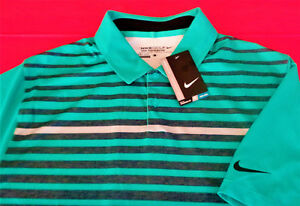 NWT NIKE GOLF TOUR PERFORMANCE DRY-FIT MENS LARGE GOLF POLO SHIRT