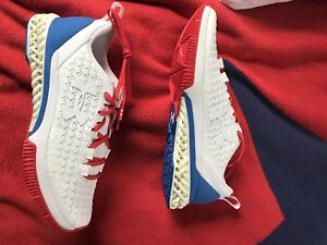 Under Armour Architech 3D Shoe Red White Blue Extremely Rare Size 8 4D Future
