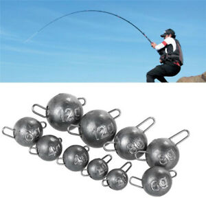 5 Pcslot Lead hook 4g 6g 8g 10g 12g Jig Head Lead Deep Water Bullet Soft Lure