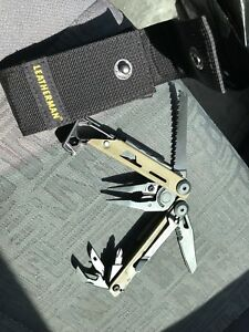 leatherman signal multi-toolbushcraft knifesurvival knifeedc knifecamp kn