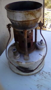 Antique Vintage  Lead Melter Smelter Stove Furnace Plumbers Stove Pot