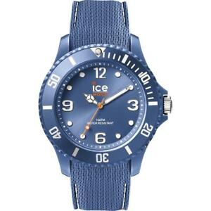 Mens Wristwatch ICE WATCH SIXTY NINEIC.013618 Silicone Blue Sub 100mt NEW