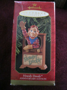 Hallmark Ornament Howdy Doody 50th Anniversary Edition Christmas toy Buffalo Bob