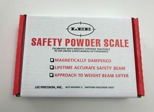 Lee Safety Powder Scale