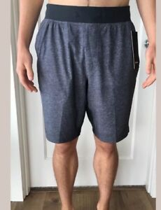 Lululemon Mens Size XL THE Short 9 * Gray FRTY Core Run Yoga Liner OOM Updated