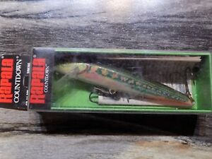 Rapala Jointed and Countdown Fishing Lures Discontinued Colors