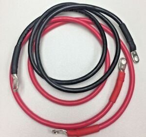 8 Gauge AWG Copper Battery Cable > Marine, Car, Truck, RV, Solar > Custom Made