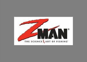 ZMAN Z-man decals stickers bass boat tournament sponsor fishing baits lures