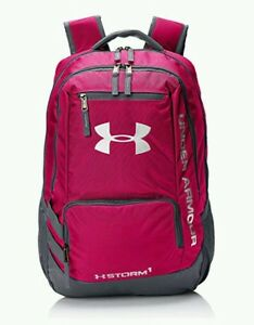Under Armour Storm Hustle II Backpack Tropic Pink(654) WhiteOne Size NWT