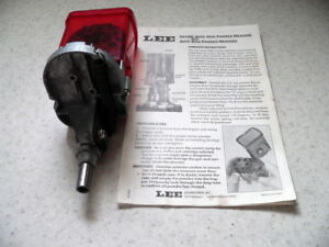 Vintage Lee Powder Measure with Auto-Disk