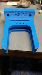 Dillon 550 Tool Holder Block with room for conversion kit