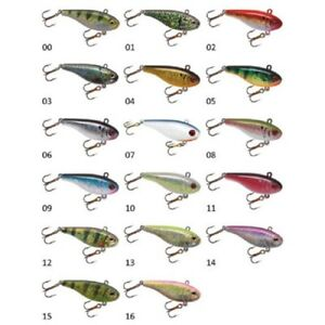 """Lindy Darter Lipless Rattle Bait 2 3 4"""" 1 2 oz Choice of Colors"""