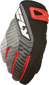 FLY RACING TITLE GLOVES SHORT BLACKRED SZ 8 PART# 5884 367-020~08