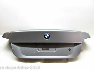 2007 BMW 525i TRUNK LID ASSEMBLY GRAY OEM 04 05 06 07 08 09 10