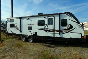 Keystone RV Bunkhouse travel camp trailer New not used repo bullet outback LK