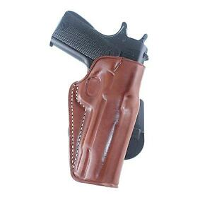 Leather Paddle Holster Fits S&W Sigma SW9VESW40VE 4