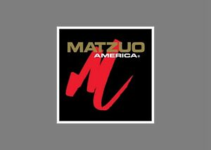 MATZUO lures decals stickers bass boat tournament sponsor fishing rod reel