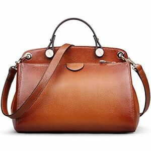 AB Earth Genuine Leather Designer Handbag for Women Clearance Doctor Top-handle