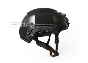 NEW FMA Hunting Tactical EX Ballistic Helmet ABS For Airsoft Paintball Black