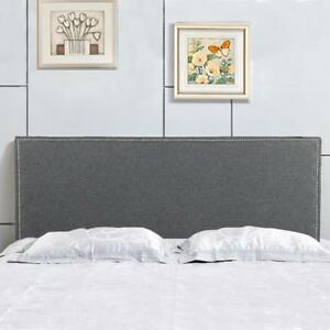 Headboard Fabric Upholstered Queen Size Headboard With Heavy Duty Linen Button