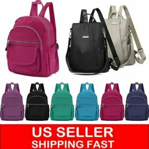 Women School Backpack Travel Bag Girl Mochila Feminina Nylon Waterproof Casual