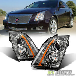2008 2014 Cadillac CTS CT S Headlights Halogen Headlamps Replacement LeftRight $228.99