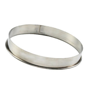 Round Stainless Steel Cake Mold Ring for Pizza Pastry Saucing Mould 10inch
