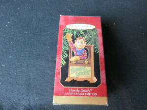 VINTAGE 1997 HALLMARK ORNAMENT - Howdy Doody~Anniversary Edition - NEW IN BOX