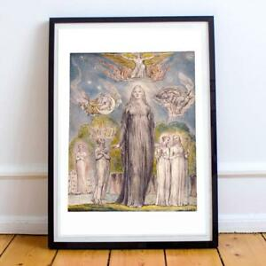 WILLIAM BLAKE ENGLISH ROMANTICIST 17 22X28 INCHES ART PRINT P P
