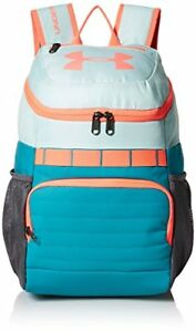 Under Armour Unisex Kids' Large Fry Backpack Refresh Mint (703)Brilliance One