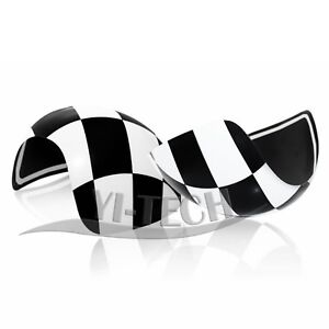 For Mini Cooper R50 R52 R53 Side Wing Mirror Casing Covers Caps 2000-06