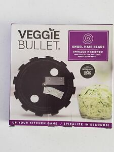 Veggie Bullet - Angel Hair Blade - Spiralizes Vegetable And Fruits In Seconds