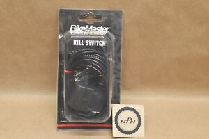 New BikeMaster Tether Stop KiIl Switch Assembly Normally Open 266181 $25.59