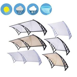 40x120 80 40 32Door Window Outdoor Awning PC Hollow Sheet Shade Cover Canopy $64.90