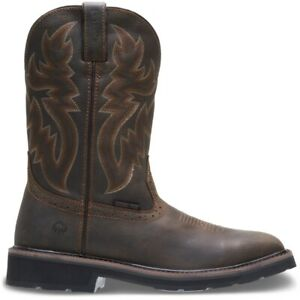 Wolverine Men Rancher Square Toe Steel Toe Wellington $77.00