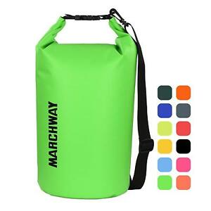 MARCHWAY Floating Waterproof Dry Bag 5L10L20L30L40L Roll Top Sack Keeps