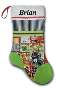 NEW Personalized Harry Potter J. K. Rowling Christmas Stocking Embroidered
