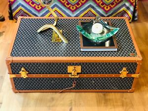 Extremely Rare Guaranteed Authentic Goyard Steamer Trunk in Excellent Condition