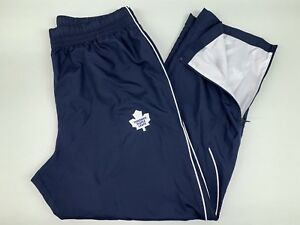 New! Under Armour Toronto Maple Leafs NHL Pro Stock Hockey Coach Rink Pants XL