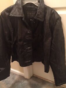 leather jacket women plus size