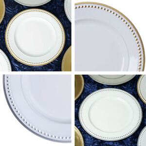 ROUND CHARGER PLATES 24 pcs 13