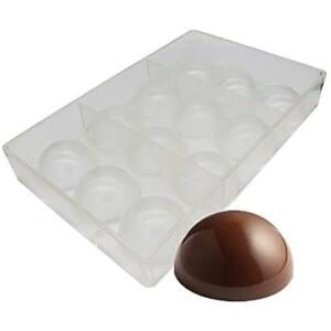 Ball Chocolate Mold Polycarbonate Mould Tray (Middle 2inch)