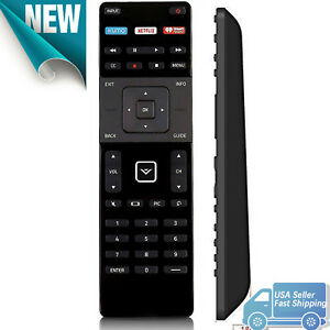 New for Vizio Smart TV Remote Control XRT122 with Netflix iHeart Radio XUMO Key