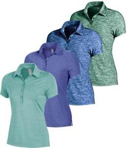 Under Armour Women's Zinger Heather Polo Golf Shirt New - Choose Color