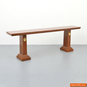 Rare and Large T.H. Robsjohn-Gibbings Console Table for Saridis of Athens